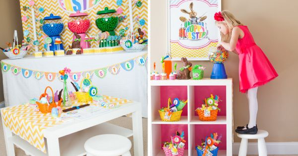 Easter Party Ideas Inspired By Hop The Movie Easter Party Hoppy Easter Easter Inspiration Decor
