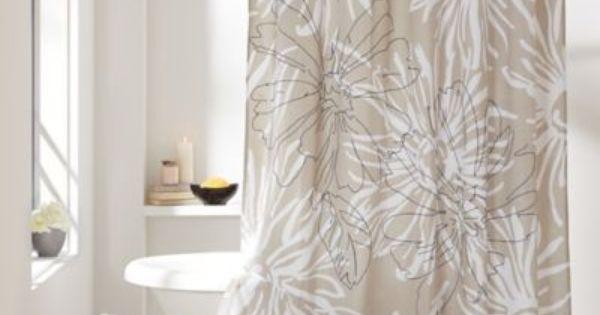 Dkny City Garden Cotton Shower Curtain Bedbathandbeyond Com