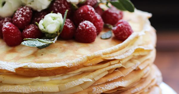 Beautiful, Mascarpone and Crepes on Pinterest