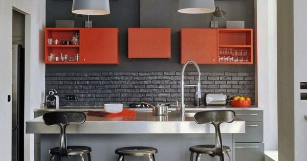 Couleur pour cuisine u2013 105 idées de peinture murale et façade Kitchens