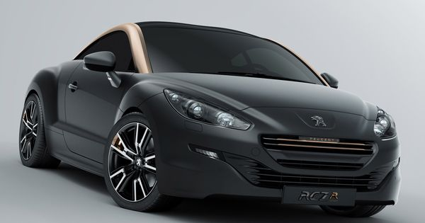 PEUGEOT RCZ R CONCEPT Most concepts arrive with no clue as to