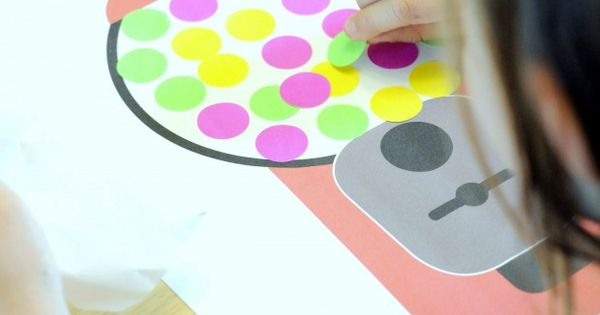 Gumball Machine Printable Gumball Theme Activity Idea