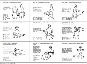 Protect Your Shoulder Shoulder Rehab Exercises Shoulder Workout Shoulder Workout At Home