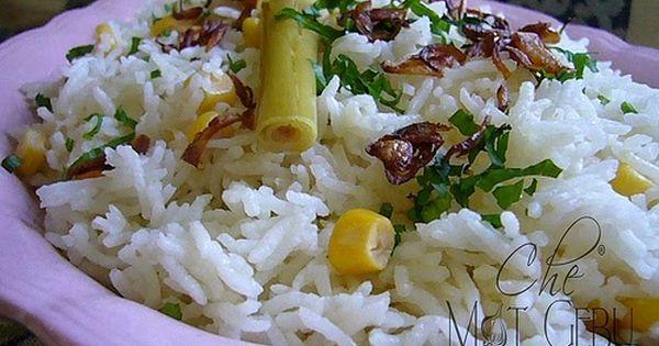 Nasi Jagung Serai Food Nasi Lemak Rice