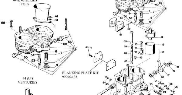 weber idf carburetor diagram break