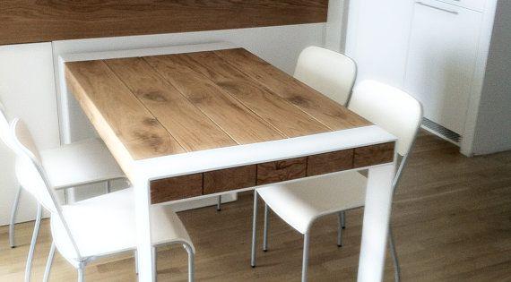 Una peque a cocina mesa de comedor de 4 a 6 personas - Mesa de comedor pequena ...