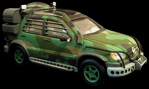 Mercedes Benz M Class Aav Observatory Vehicle From The Lost World