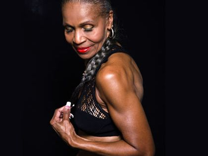 I guess I have no excuses! Ernestine Shepherd, in shape at age