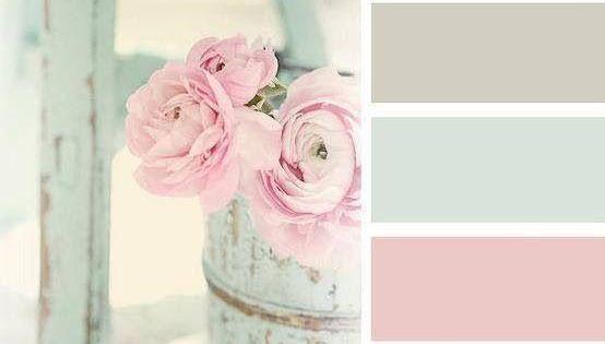 Colores para decorar habitaciones shabby chic shabby - Habitaciones vintage chic ...