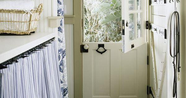 Dutch Door / Laundry Room / Mud Room / Dog Shower