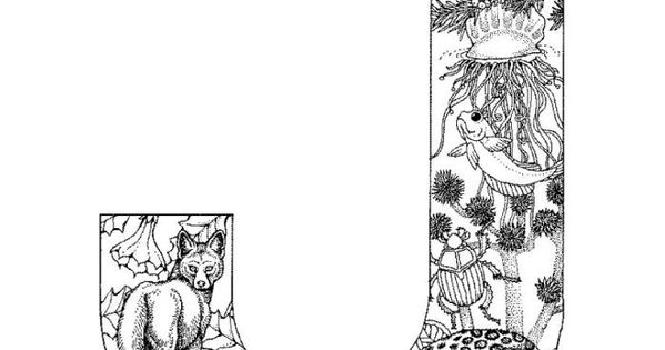 Detailed Alphabet Coloring Pages : Detailed coloring pages for adults alphabet