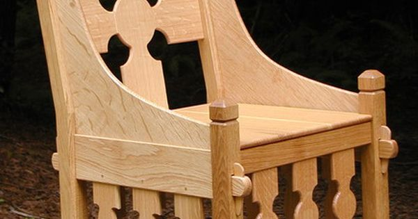 This wild chair reminds me of a throne i like the pinned for Throne chair plans