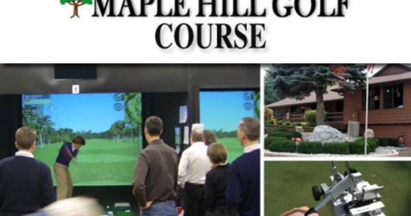13 For A Half Hour Of Simulator Golf Or Heated Stall Time Plus An Iron Fitting With Loft Lie Adjustment At Maple Golf Courses Golf Equipment Golf Tips Driving