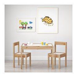 Kindersitzgruppe Kinderm/öbel Kindertisch mit 2 St/ühlen Kinder Tisch Stuhl Kiefer