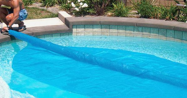 Solar Roller Cover Pool Pinterest Pool Builders Swimming Pools And Covered Pool