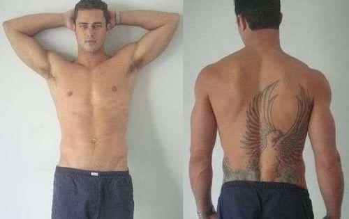 Taylor Kinney Tattoo