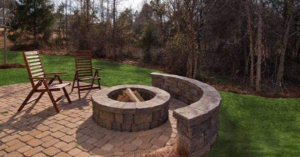 9 Ideas That Ll Convince You To Add A Fire Pit To Your: Fire Pit With Retaining Wall/seating