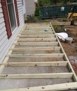 How To Build A Porch Over Concrete Building A Porch Porch