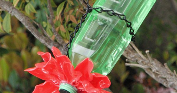 hummingbird feeder from wine bottle - Google Search