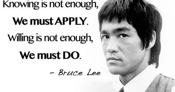 Bruce Lee Jeet Kune Do Quotes Jeet Kune Do Philosoph...