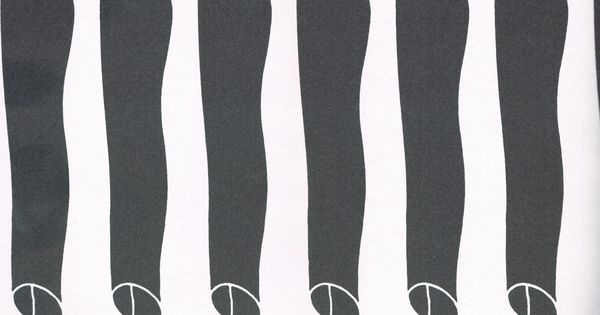 illustration by Shigeo Fukuda - AWESOME optical illusion!