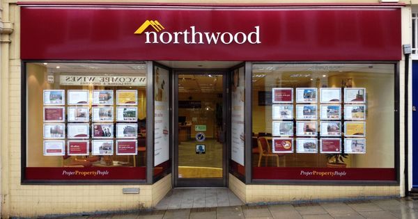 Northwood High Wycombe Dibond Fascia Tray With Stand