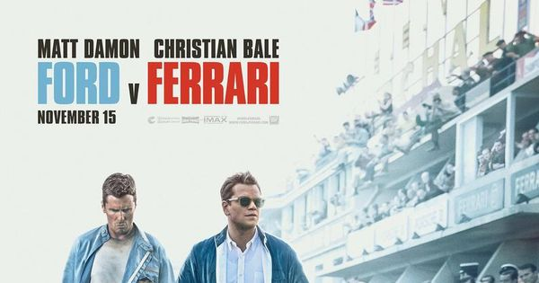 Ford V Ferrari Movie Poster Glossy High Quality Print Photo Wall