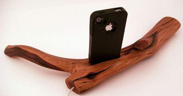 iPhone Dock - nature meets tech