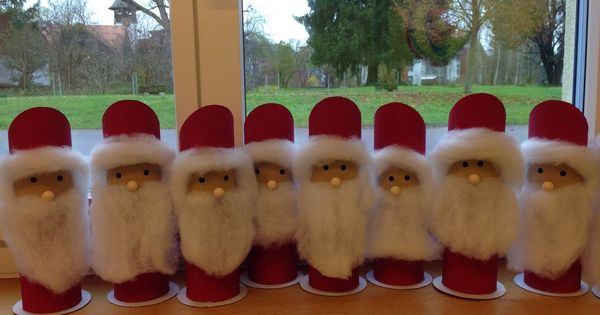 Nikolaus weihnachtsmann bastelideen kindergarten - Bastelideen nikolaus ...