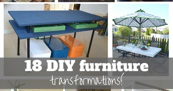 18 Amazing Diy Furniture Transformations Diy Furniture