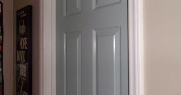 Painted Interior Doors The Door Color Is Yachtsman By