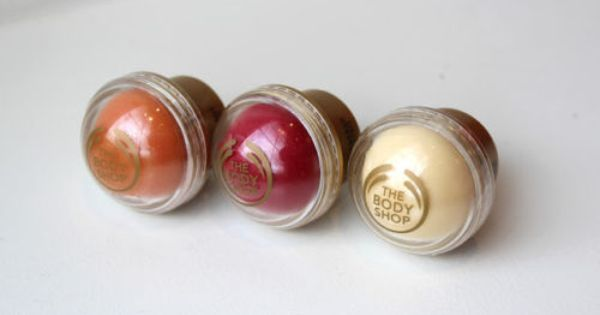 The Body Shop Cranberry Joy Vanilla Bliss Ginger Sparkle Lip