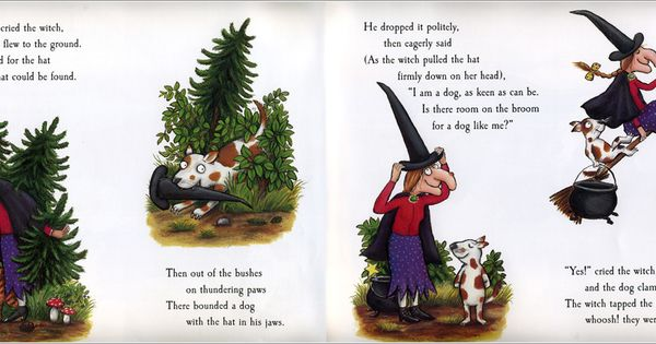 Room On The Broom Story Words Online