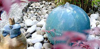 Sprudelstein Sprudelstein Garten Wasser Im Garten