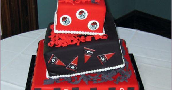 45+ Georgia bulldog wedding cake topper ideas