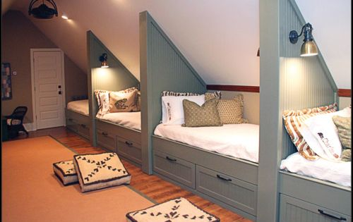 If I ever get an attic space I would love to do