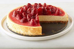 Classic Strawberry Topped Cheesecake Recipe Cheesecake Recipes Desserts Easy Cheesecake Recipes