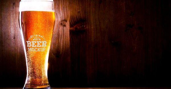 Beer Bottle Glass Mock Up 43 Psd Mockup Free Mockups Psd Mockup Free Psd Beer Mockup
