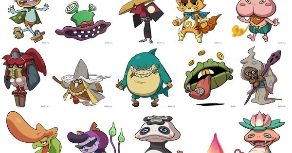 yokai watch Google Search Creatures