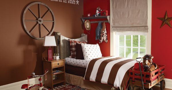 Decorating A Cowboy Western Boys Bedroom Ideas Cowboy