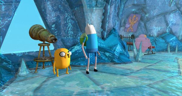 Game New 3d Adventure Time Finn And Jake Investigations Game