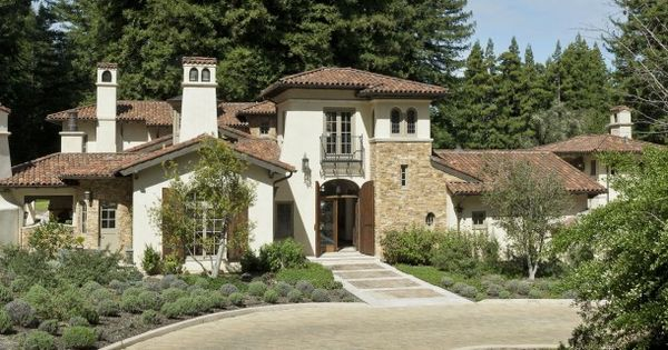House Plans With Italian Villa Style Mediterranean Homes Italian Villa Italian Architecture