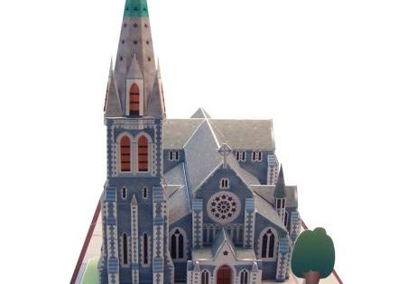 Christchurch cathedral new zealand architecture paper for Architects creative christchurch