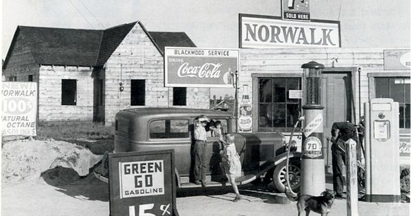 Norwalk Gas Station Riverbank Not Our Norwalk In Ct But Still Pretty Cool