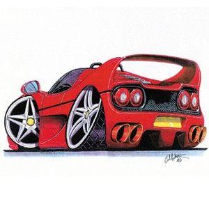Funny Cartoon Car Car Drawings Car Humor Art Cars