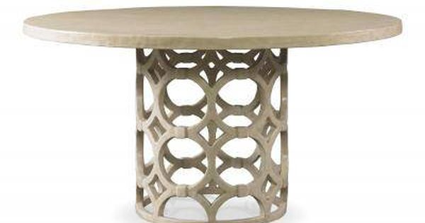 Rowan Round Dining Table in Antique Smooth White Gesso  : e5a9b1f6e1dd5e6208640d313bd0e45b from www.pinterest.com size 600 x 315 jpeg 18kB