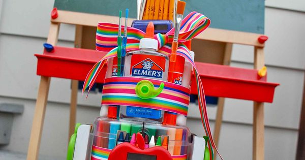 Teacher s Supplies Diaper Cake.I would love to get one of ...