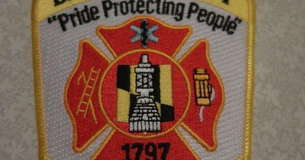 Baltimore city fire service