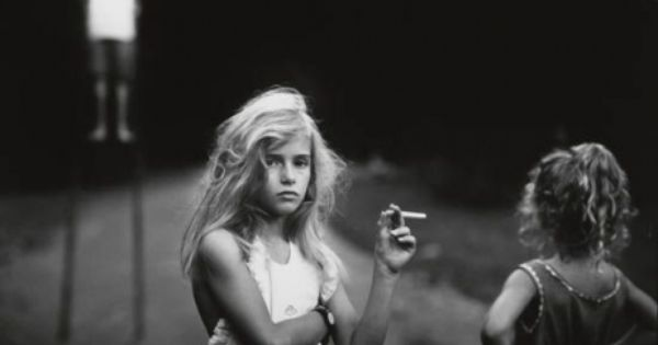 'Candy Cigarette' Photograph by Sally Mann (1989 ...