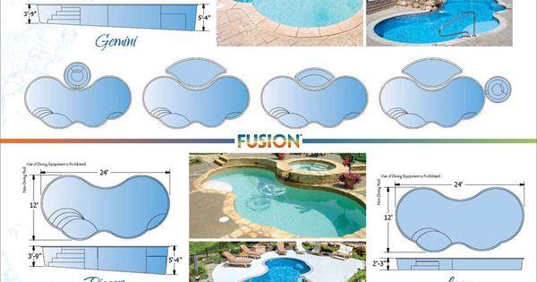 Trilogy Fiberglass Swimming Pool Products Online Brochures Pool Ideas Favorite Pinterest